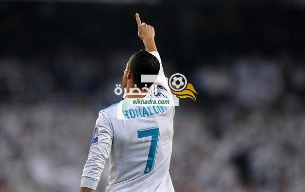 كريستيانو رونالدو يواصل تحقيق الأرقامً القياسية بدوري أبطال أوروبا 31