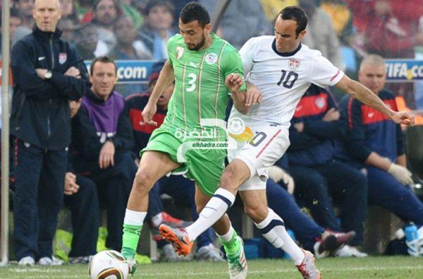"""نذير بلحاج:"""" عشت لحظات رائعة مع المنتخب الجزائري """" 24"""