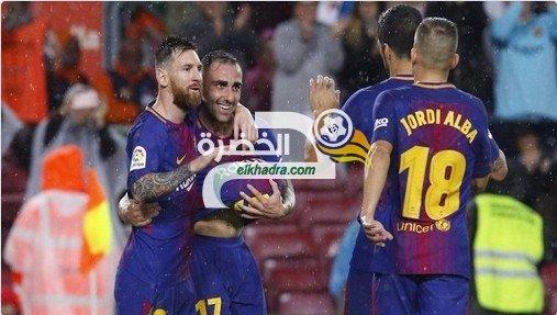 برشلونة يفوز على إشبيلية في قمة الجولة 11 من الدوري الإسباني 27