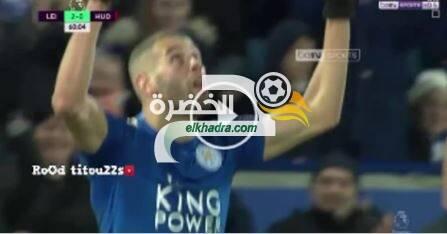 هدف اسلام سليماني ضد هيدرسفيلد اليوم 01-01-2018 16
