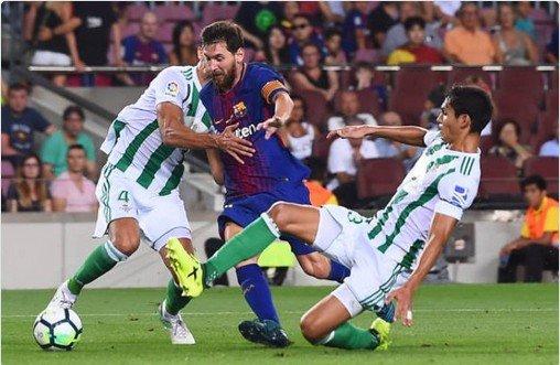 بمشاركة ماندي : برشلونة يكتسح ريال بيتيس بخماسية نظيفة 86