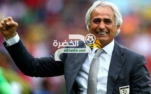 """حليلوزيتش: """"سعيد برؤية الجزائر تعود إلى المستوى الإفريقي مع بلماضي"""" 24"""