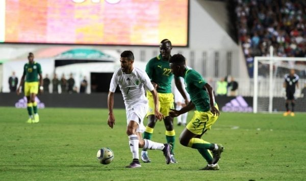 الخضر سيواجهون تنزانيا وديا في ملعب 5 جويلية 64