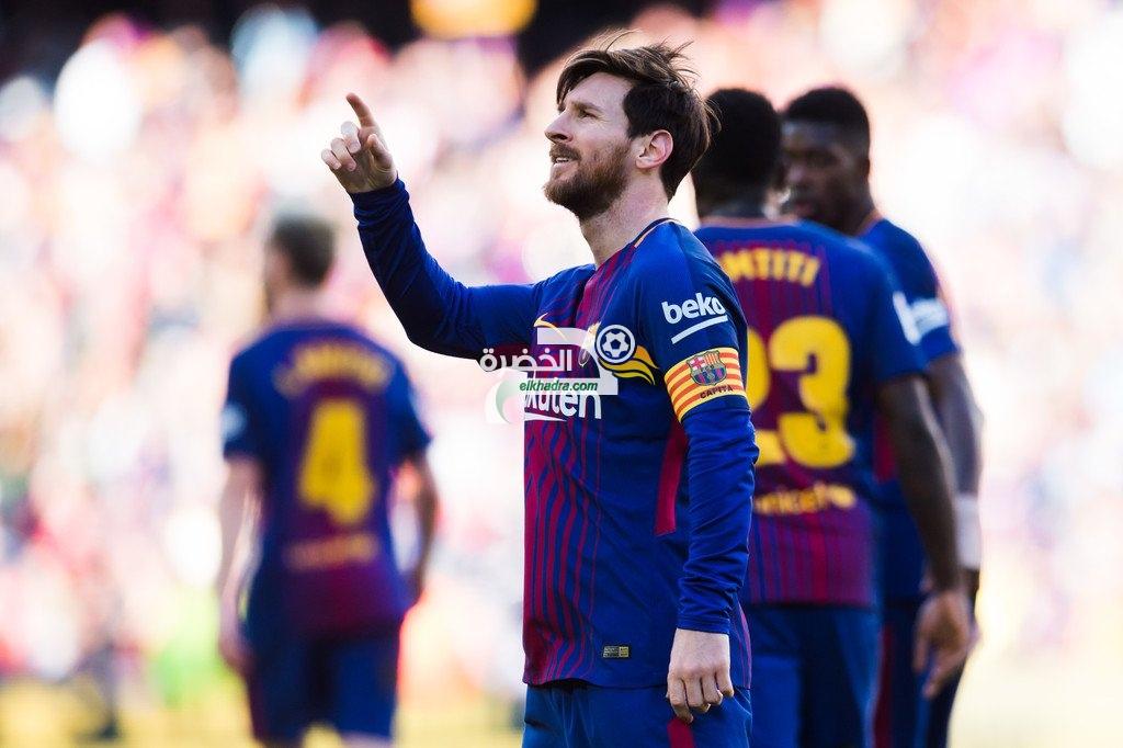 برشلونة يواصل زحفه نحو لقب الليجا بالفوز على أتلتيك بيلباو 51