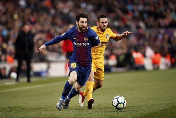 ميسي يقود برشلونة للفوز على اتلتيكو مدريد والابتعاد بصدارة الليجا 62
