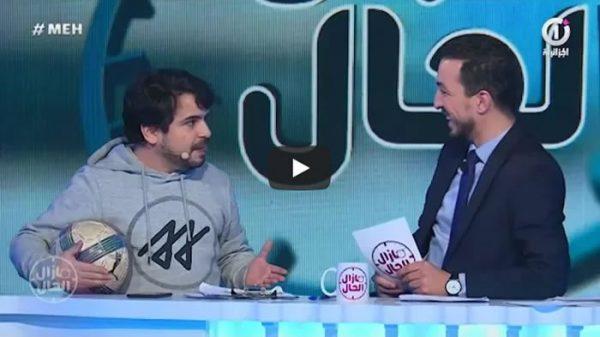 شاهد بالفيديو... الفكاهي كمال عبدات يقلد علي بن شيخ في التحليل 58