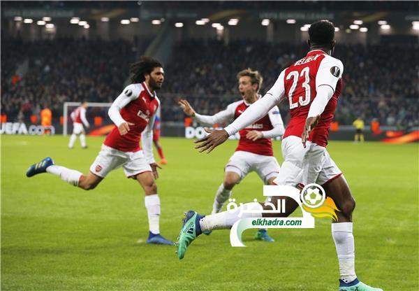 آرسنال لنصف نهائي الدوري الأوروبي 39
