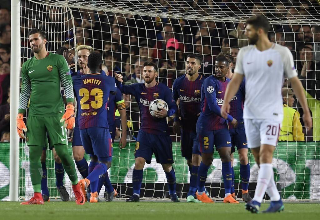 برشلونة يضع قدمه الأولى في المربع الذهبي لدوري أبطال أوروبا 48