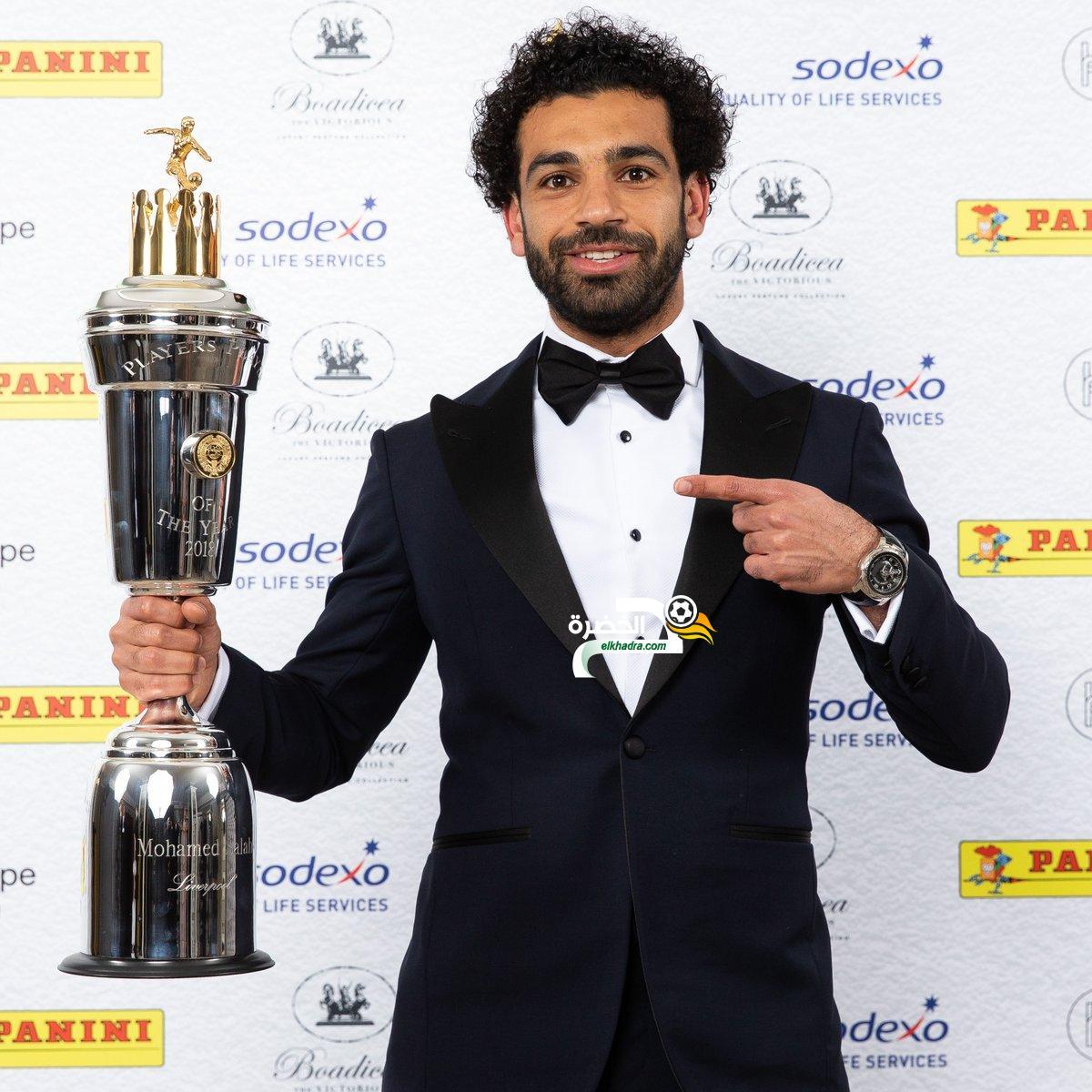 محمد صلاح أفضل لاعب في الدوري الإنجليزي 24