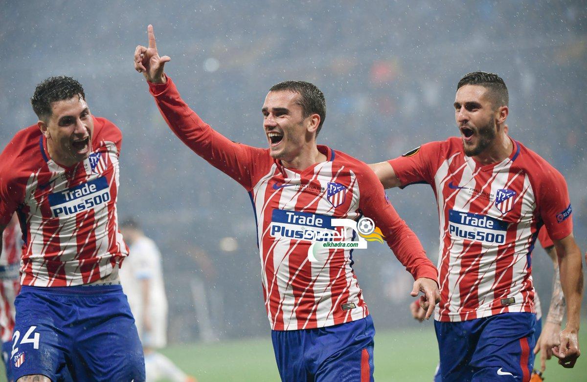 أتلتيكو مدريد بطل الدوري الأوروبي للمرة الثالثة في تاريخه 25