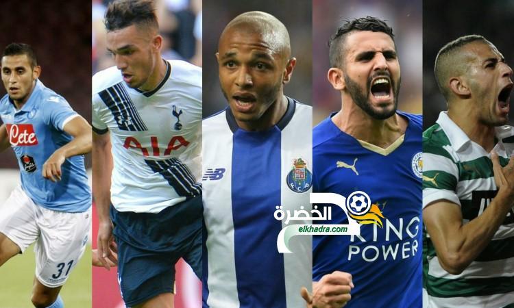 قائمة أبرز اللاعبين الجزائريين المحترفين في أوروبا 24