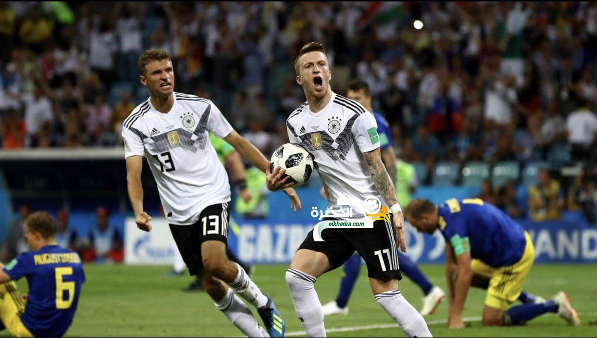 ألمانيا 2-1 السويد : توني كروز يقلب المباراة في الثواني الأخيرة 19
