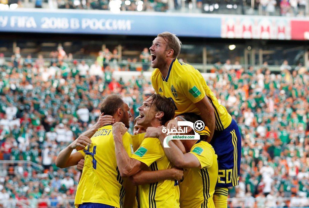 السويد تفوز وتتأهل مع المكسيك وأبطال العالم خارج كأس العالم! 4