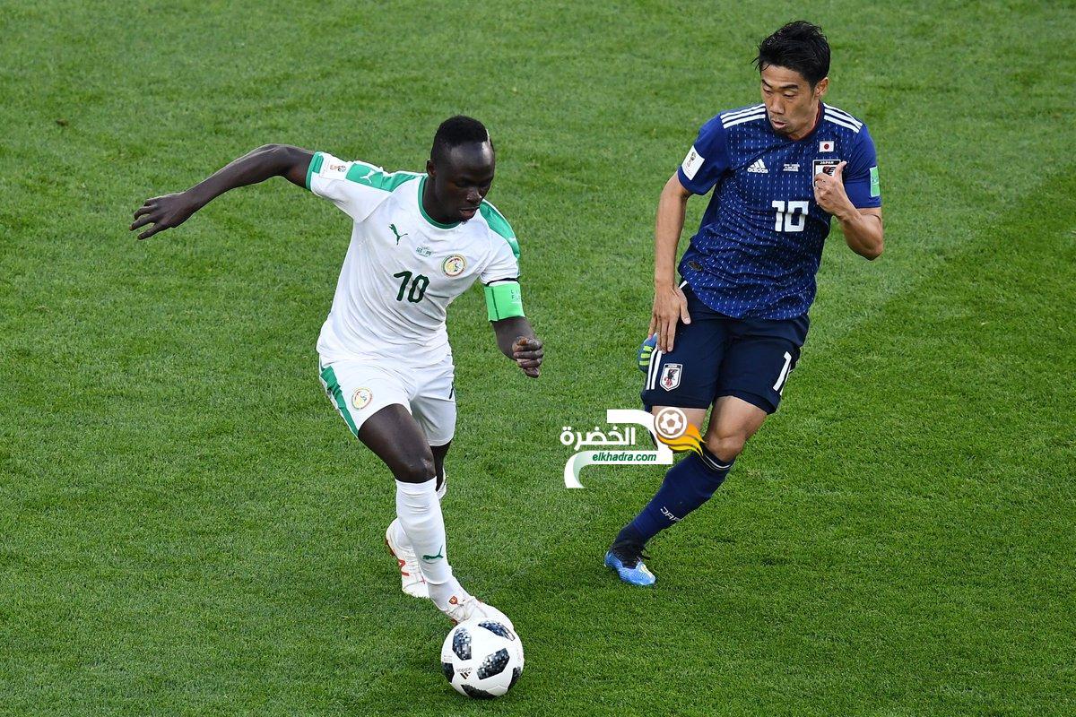 السنغال تتعادل مع اليابان ببطولة كأس العالم 11