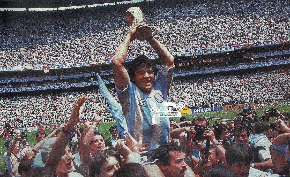 """مارادونا : """"أشعر بالحزن بسبب ما تعيشه الأرجنتين اليوم"""" 4"""