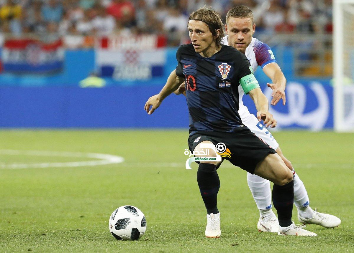 كرواتيا 2-1 ايسلندا : كرواتيا تتأهل كأول المجموعة 11