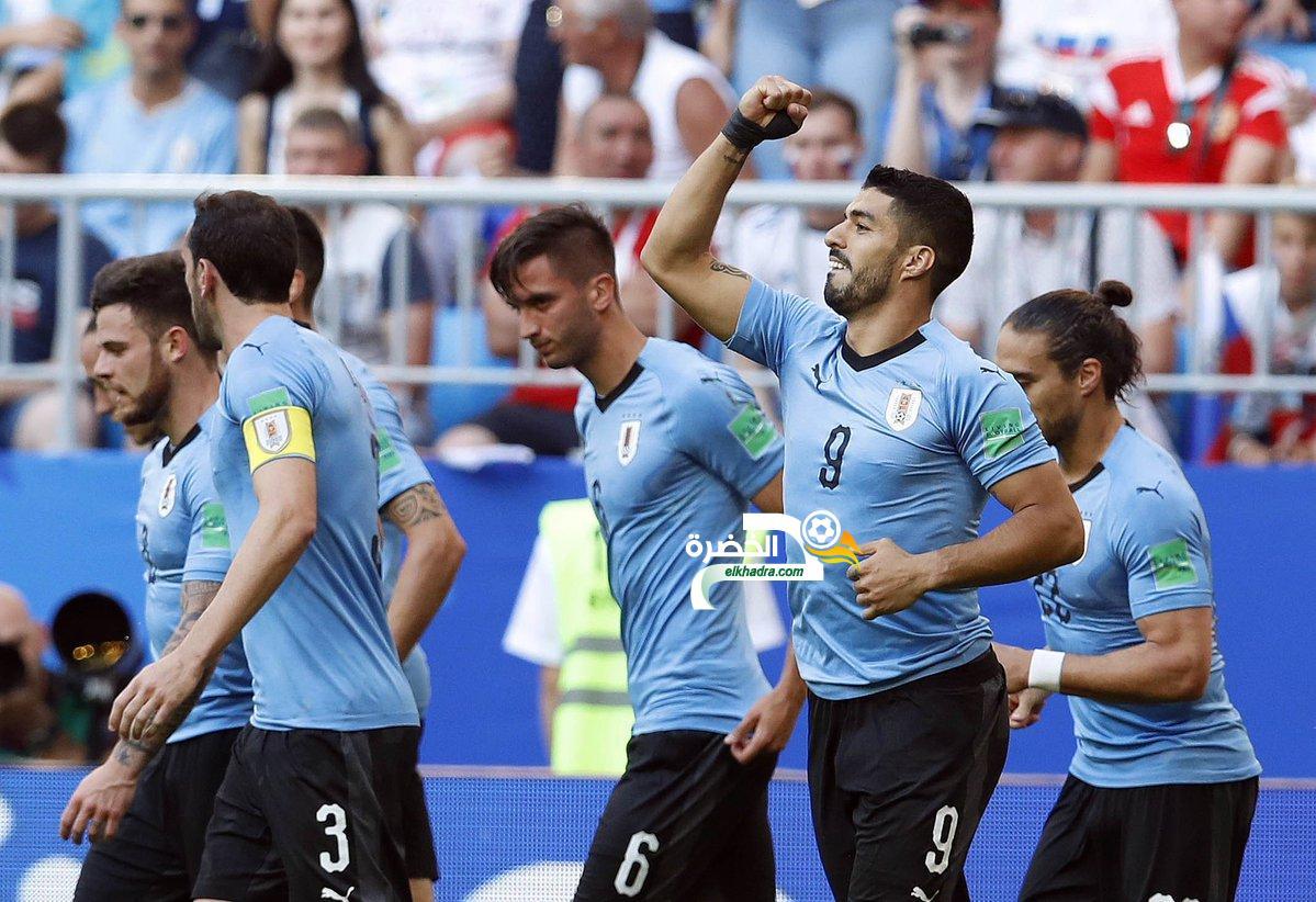 الأوروغواي تسحق روسيا بثلاثية نظيفة 32
