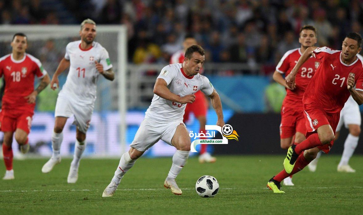 صربيا 1 -2 سويسرا : هدف قاتل من المتألق شاكيري 30