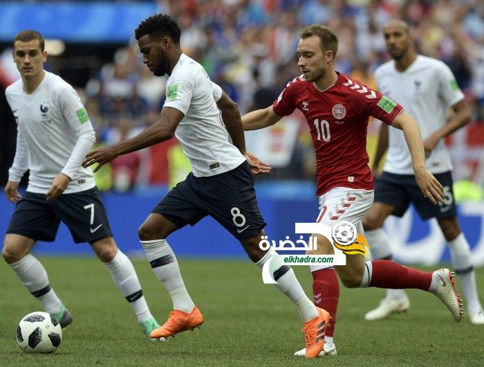 التعادل السلبي بين الدنمارك وفرنسا يؤهلهما سوياً على قمة المجموعة الثالثة 21