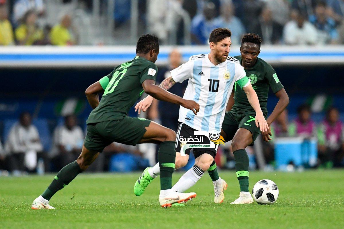 الأرجنتين تبلغ ثمن نهائي كأس العالم بعد فوزها الدراماتيكي على نيجيريا 12