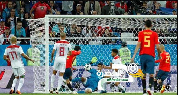 إسبانيا تفلت من الخسارة أمام المغرب وتتأهل للدور الثاني في صدارة مجموعتها 28
