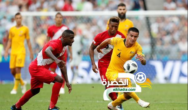 البيرو تفوز على أستراليا في ختام مشوارهما ببطولة كأس العالم 20
