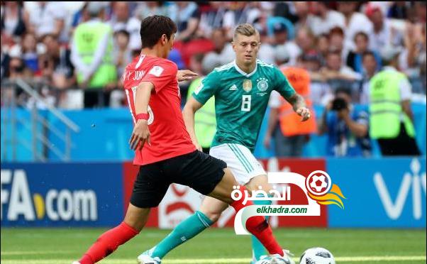 ألمانيا 0 -2 كوريا الجنوبية : كوريا تطرد ألمانيا خارج المونديال 8