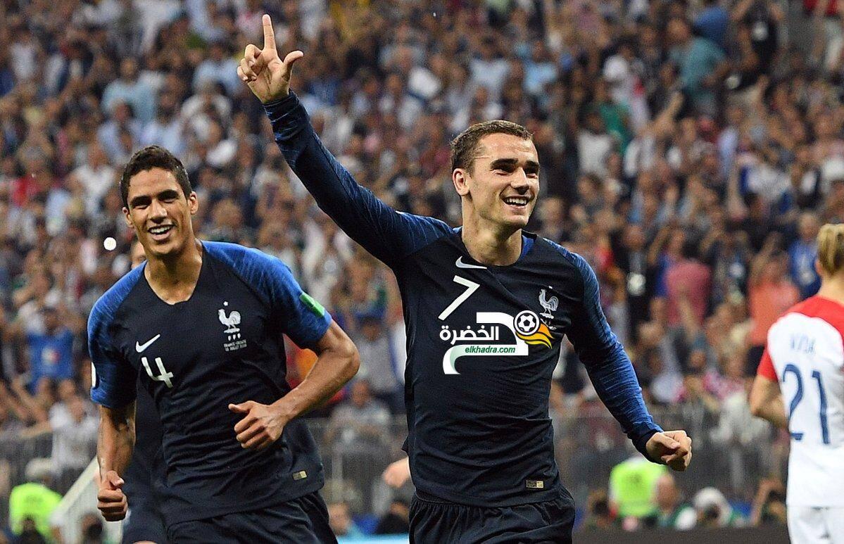 فرنسا بطلة العالم للمرة الثانية في تاريخها 10