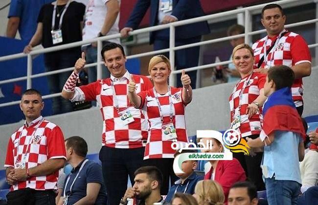 رئيسة كرواتيا تعلن عن مفأجاة حال الفوز بكأس العالم 17