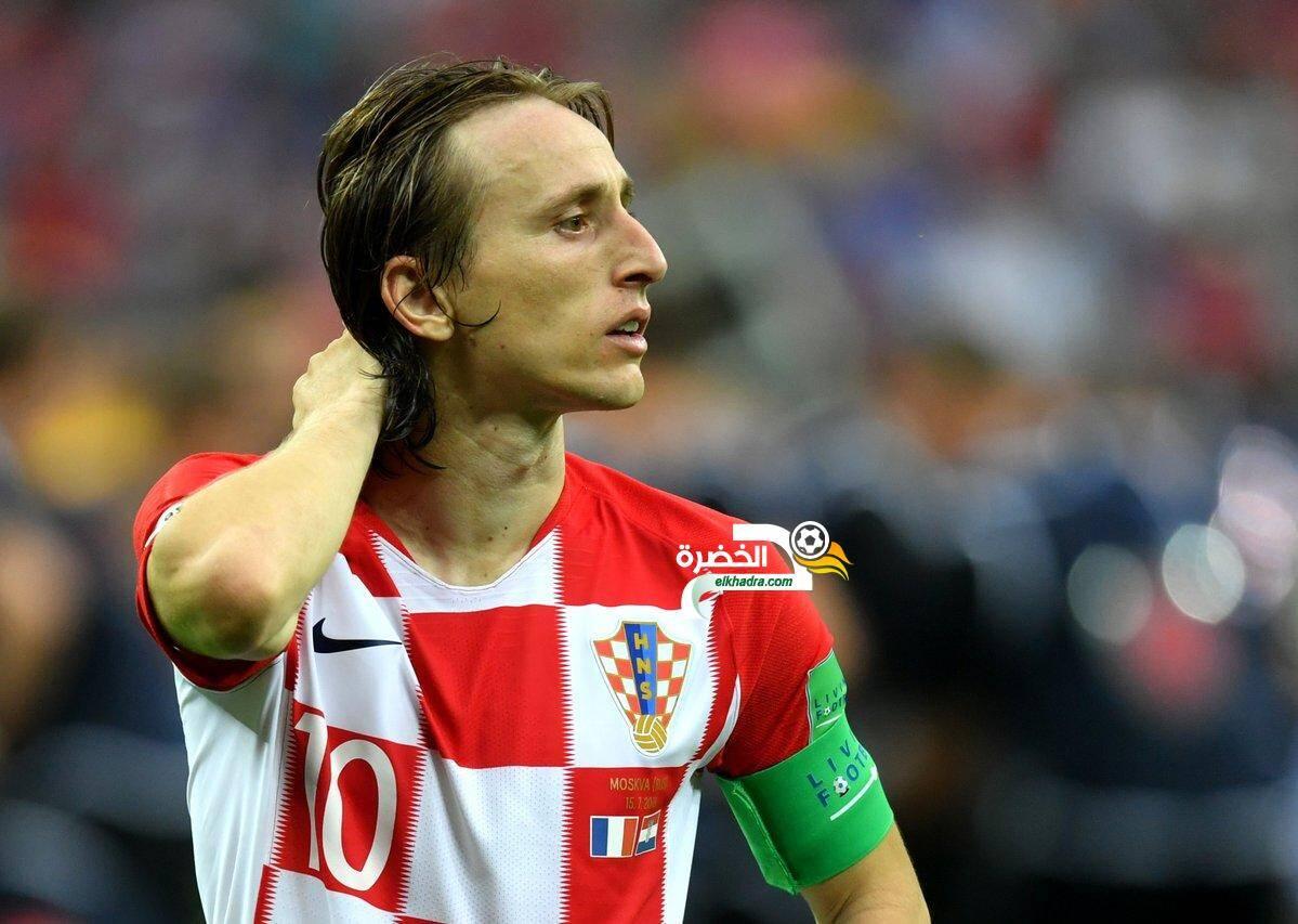 رسمياً : مودريتش أفضل لاعب في مونديال 2018 8
