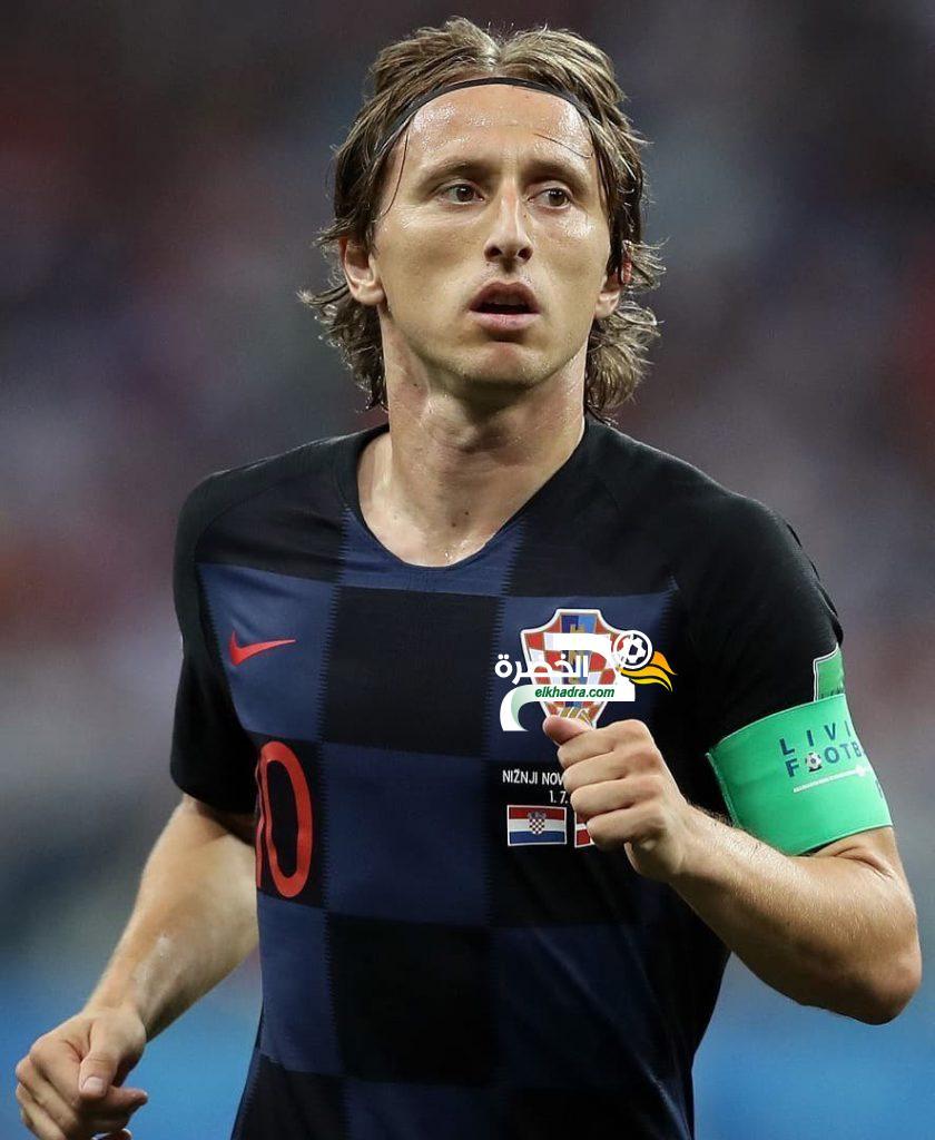 رسمياً : مودريتش أفضل لاعب في مونديال 2018 2