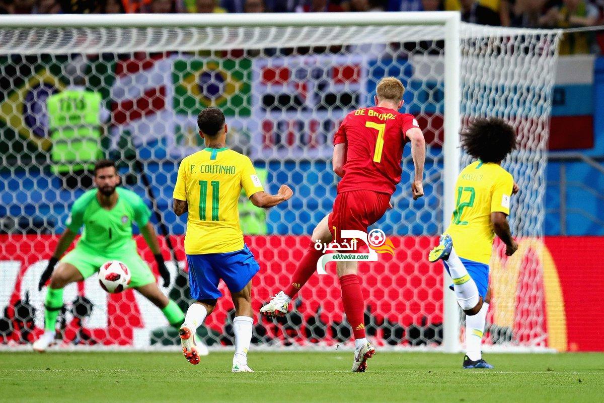 بلجيكا تفوز على البرازيل وتتأهل لتلاقي فرنسا في نصف النهائي! 18