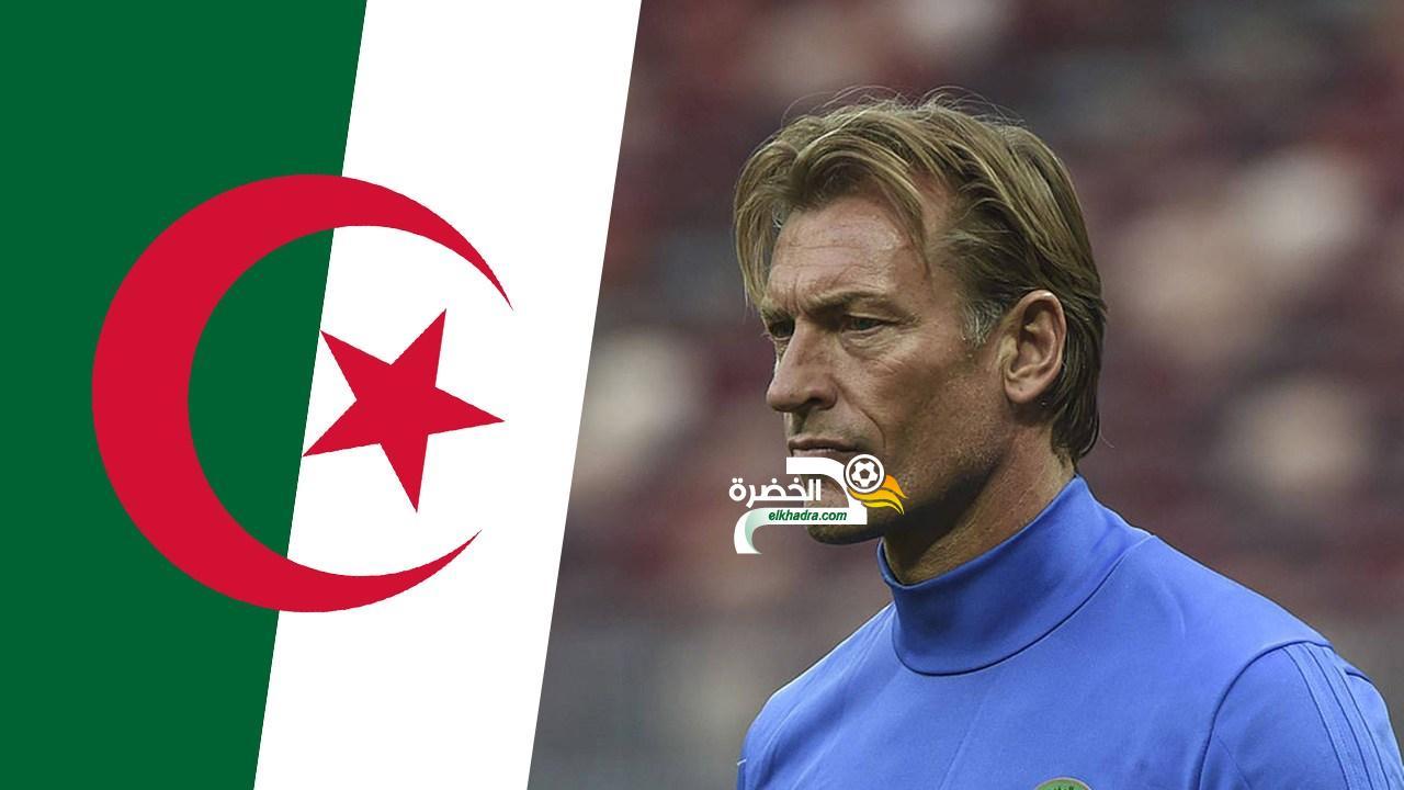 """رونار: """"بلماضي سر نجاح المنتخب الجزائري"""" 24"""