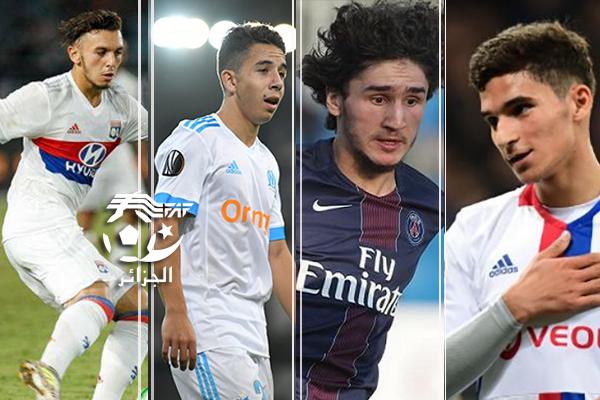 قائمة اللاعبين الجزائريين الناشطين في أوروبا 2019/2018 24