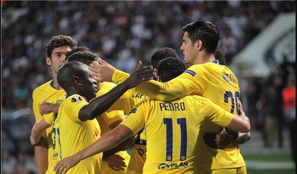 تشيلسي يفوز على باوك اليوناني في الدوري الأوروبي 24