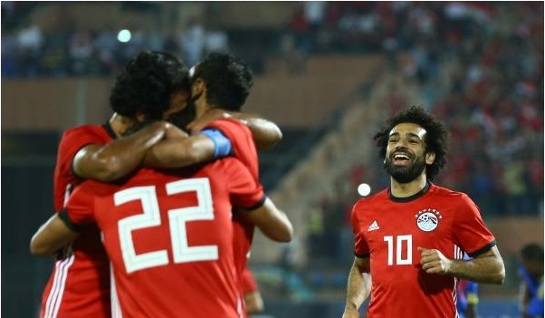 مصر تفوز علي اسواتيني باربعة اهداف مقابل هدف في تصفيات امم افريقيا 33