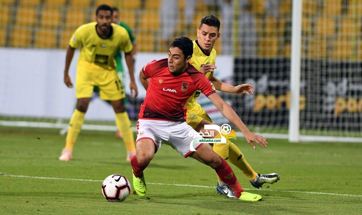 الوصل الإماراتي يتجاوز الأهلي المصري ويتأهل إلى ربع نهائي البطولة العربية 24