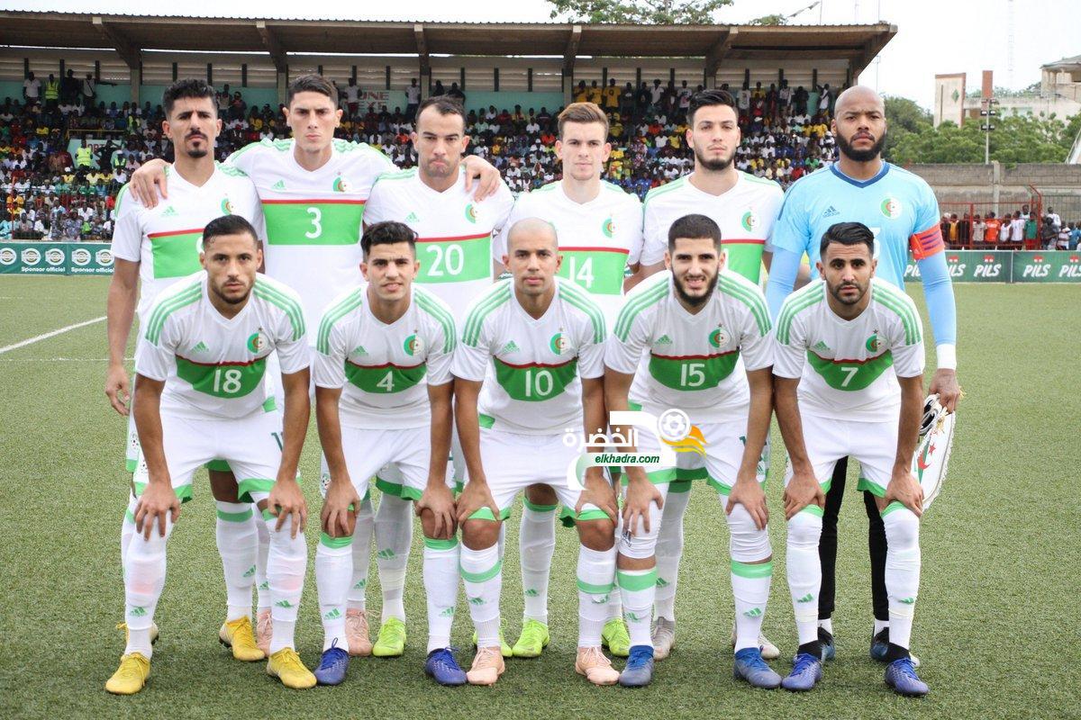 تشكيلة المنتخب الوطني الجزائري المتوقعة أمام موريتانيا 1