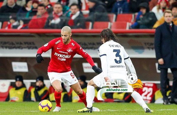 سفيان حني يسجل أول أهدافه هذا الموسم في الدوري الروسي 24