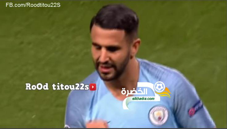 شاهد أجمل أهداف و تمريرات رياض محرز مع مانشستر سيتي 2018 24
