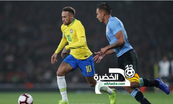 منتخب البرازيل يحقّق فوزا صعبا على الأوروجواي 41
