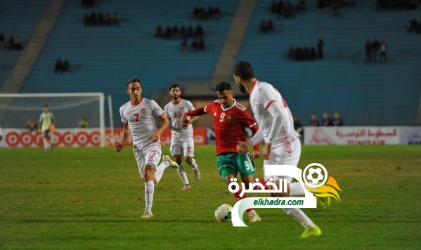 المغرب يعود بالفوز من تونس وديا 33