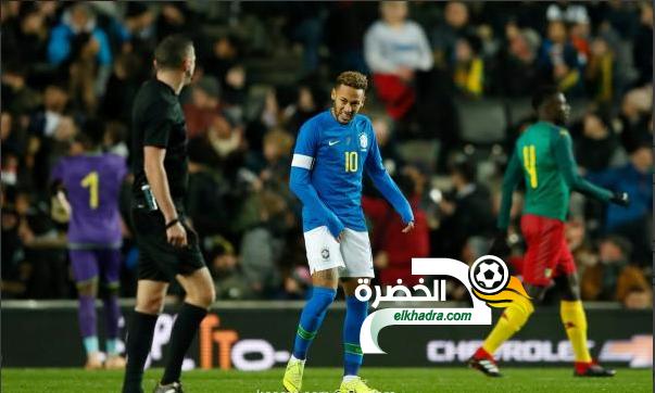 البرازيل تفوز على الكاميرون وديا 40