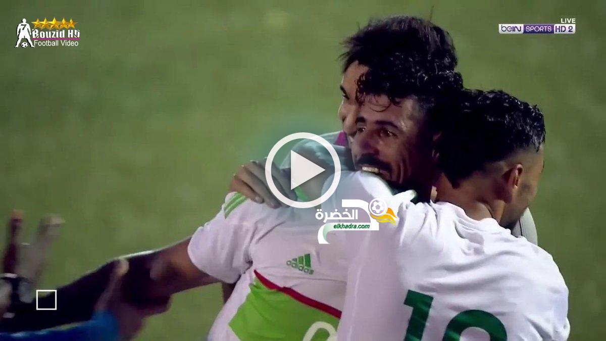ملخص كامل HD واهداف مباراة الجزائر وتوجو 4-1 بتعليق حفيظ دراجي [18-11-2018] 27