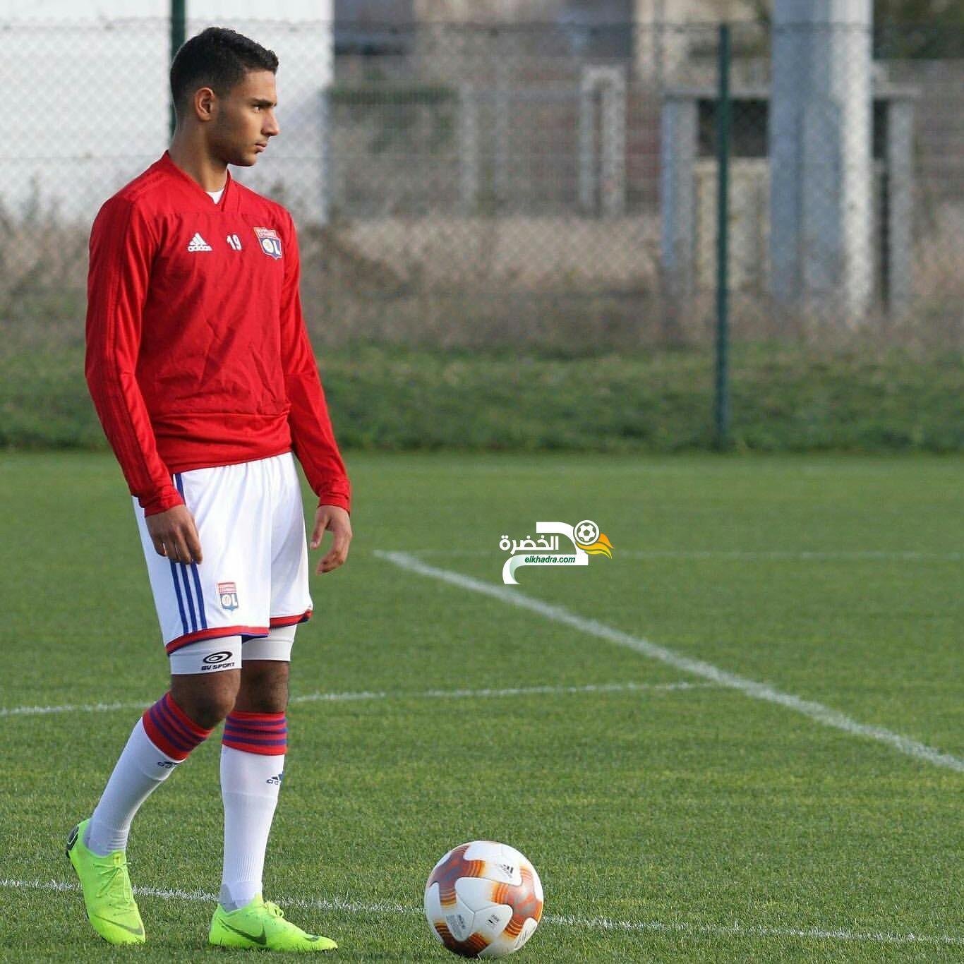 الجزائري / التونسي آدم يوسفي :  أطمح لعقد إحترافي مع أولمبيك ليون 24