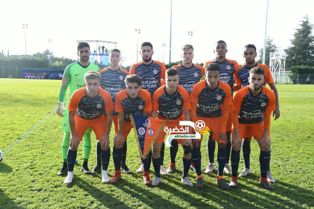 مشاركة أربعة جزائريين في تأهل مونبولي في رابطة الأبطال الأوربية 24