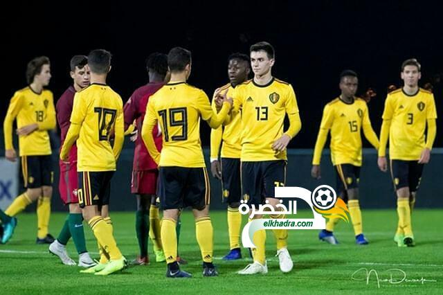 """""""طارق رادي """" جزائري من وهران يشارك مع المنتخب البلجيكي ! 24"""