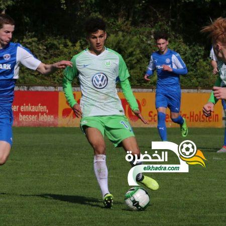 دولي ألماني من أصول جزائرية يتدرب مع الفريق الأول لفولسبورغ ! 25