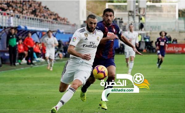إيبار يحقق فوزا تاريخيا على ضيفه ريال مدريد بثلاثية 24