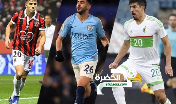 ثلاثي جزائري للتنافس على لقب أفضل لاعب مغاربي لسنة 2018 24